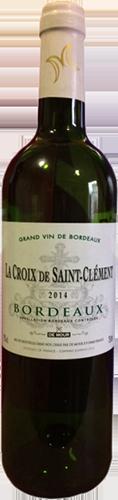 La Croix De Saint Clement Blanc 2016